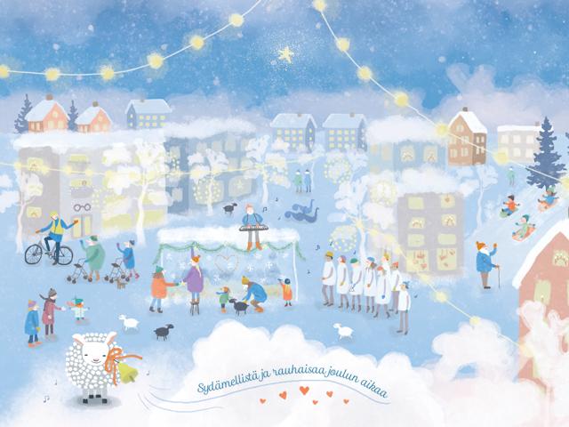 Järvenpään seurakunnan joulutervehdys